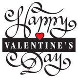 Saint Valentin heureux Image libre de droits