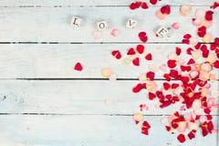 Saint Valentine background Royalty Free Stock Photos