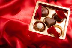 Saint Valentine day luxury sweets Stock Photos