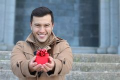 Saint valentine present for your loved one Stock Photography