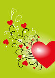 Saint Valentine's day. Backround for Saint Valentine's day Royalty Free Stock Photos