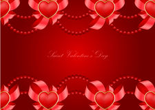 Saint Valentine's Day greeting card Stock Photography
