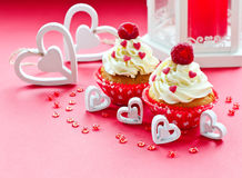 Saint Valentine's Day sweet food Stock Image
