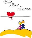 Saint Valentine - San valentino in italian Stock Photos