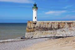 Saint-Valery-en-Caux Lighthouse Stock Photography