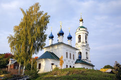 Saint Varvara's church. Ples Stock Photo