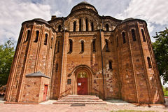 Saint Vasil's Church in Ovruch Stock Photos