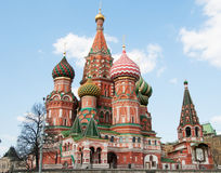 Saint Vasily Stock Image