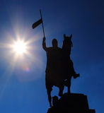Saint Venceslav Statue Stock Image
