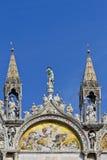 saint venice för basilicafragmentitaly fläck Royaltyfri Bild