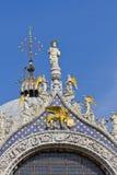 saint venice för basilicafragmentitaly fläck Arkivfoton