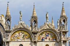 saint venice för basilicafragmentitaly fläck Arkivbild