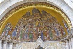 saint venice för basilicafrescoesitaly fläck Royaltyfria Foton