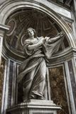 Saint Veronica statue inside Saint Peter's. Royalty Free Stock Image