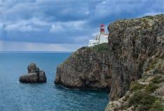 Saint Vicent lighthouse Stock Photos