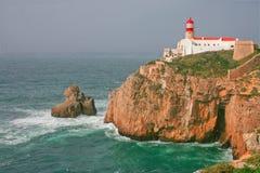 Saint Vicent lighthouse Stock Image