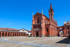 Saint Victor Church in Pollenzo, Italy. Royalty Free Stock Photos