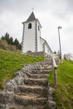 Saint Vid church, Slovenia Royalty Free Stock Image