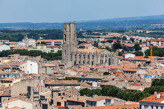 Saint Vincent Church Carcassonne France Royalty Free Stock Photos