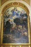Saint Vincent de Paul. Church of the Holy Trinity, Paris Stock Photos