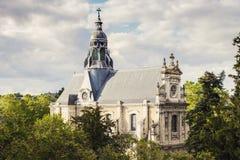 Saint-Vincent de Paul kościół w Blois Zdjęcia Royalty Free