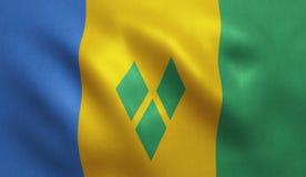 Saint Vincent Flag Stock Photos