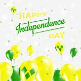 Saint Vincent And The Grenadines Independence Day. Royalty Free Stock Images