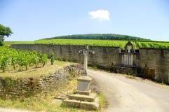 "Saint Vincent. Patron Saint "" of Winemakers in Burgundy Stock Photo"