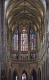 Saint Vit cathedral in Prague Stock Photos