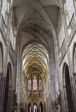 Saint Vit cathedral in Prague Stock Image