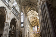 Saint Vitus Cathedral Royalty Free Stock Photos
