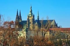 Saint Vitus Cathedral imagens de stock royalty free