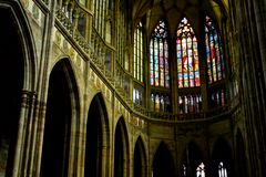 Saint Vitus Cathedral Royalty Free Stock Photo