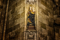 Saint Vitus Cathedral art Royalty Free Stock Image