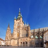 Saint Vitus Cathedral. Stock Photos