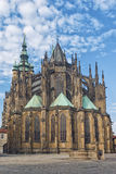 Saint Vitus Cathedral de Praga Imagem de Stock Royalty Free