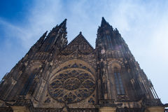 Saint Vitus Cathedral Royalty Free Stock Images