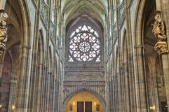 Saint Vitus Cathedral Stock Images