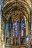 Saint Vitus Cathedral interior Stock Photography