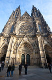 Saint Vitus Cathedral  in Prague Royalty Free Stock Photography