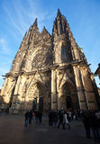 Saint Vitus Cathedral  in Prague Stock Images