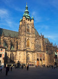 Saint Vitus Cathedral  in Prague Stock Photography
