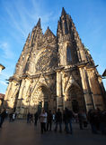 Saint Vitus Cathedral  in Prague Royalty Free Stock Images