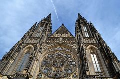Saint Vitus Cathedral. In Prague Royalty Free Stock Image