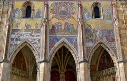 Saint Vitus Cathedral. In Prague Royalty Free Stock Images