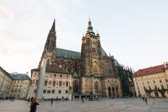 Saint Vitus Cathedral. In Prague Royalty Free Stock Photos