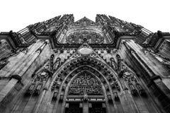 Saint Vitus Cathedral. In Prague Royalty Free Stock Photo