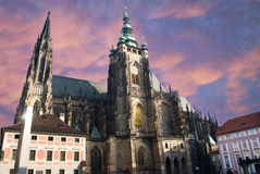 Saint Vitus cathedral, Prague Royalty Free Stock Photo