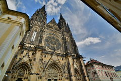 Saint Vitus Cathedral. Prague. Czech Republic Royalty Free Stock Photography