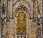 Saint Vitus Cathedral in Prague Royalty Free Stock Photo
